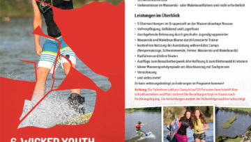 6. Wicked Youth Wakeboardcamps